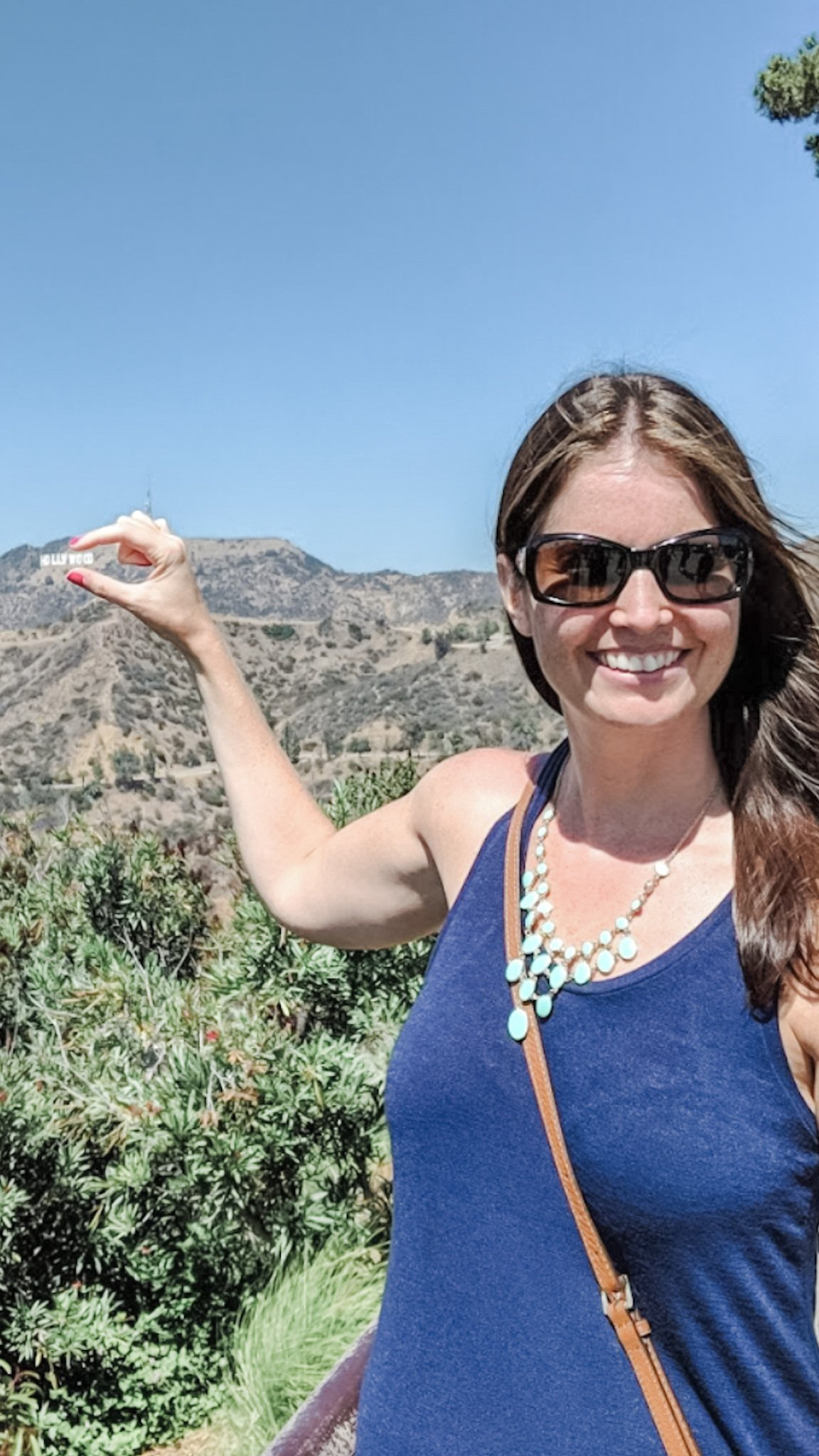 A must-see on any road trip through LA - the Hollywood sign. We took this photo from the Griffith Observatory.