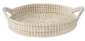 Mcbee Seagrass Serving Tray