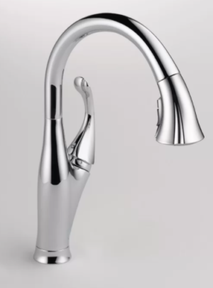 Addison Pull Down Single Handle Kitchen Faucet with Diamond Seal Technology