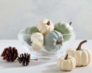 Faux Modern Pumpkin Vase Filler