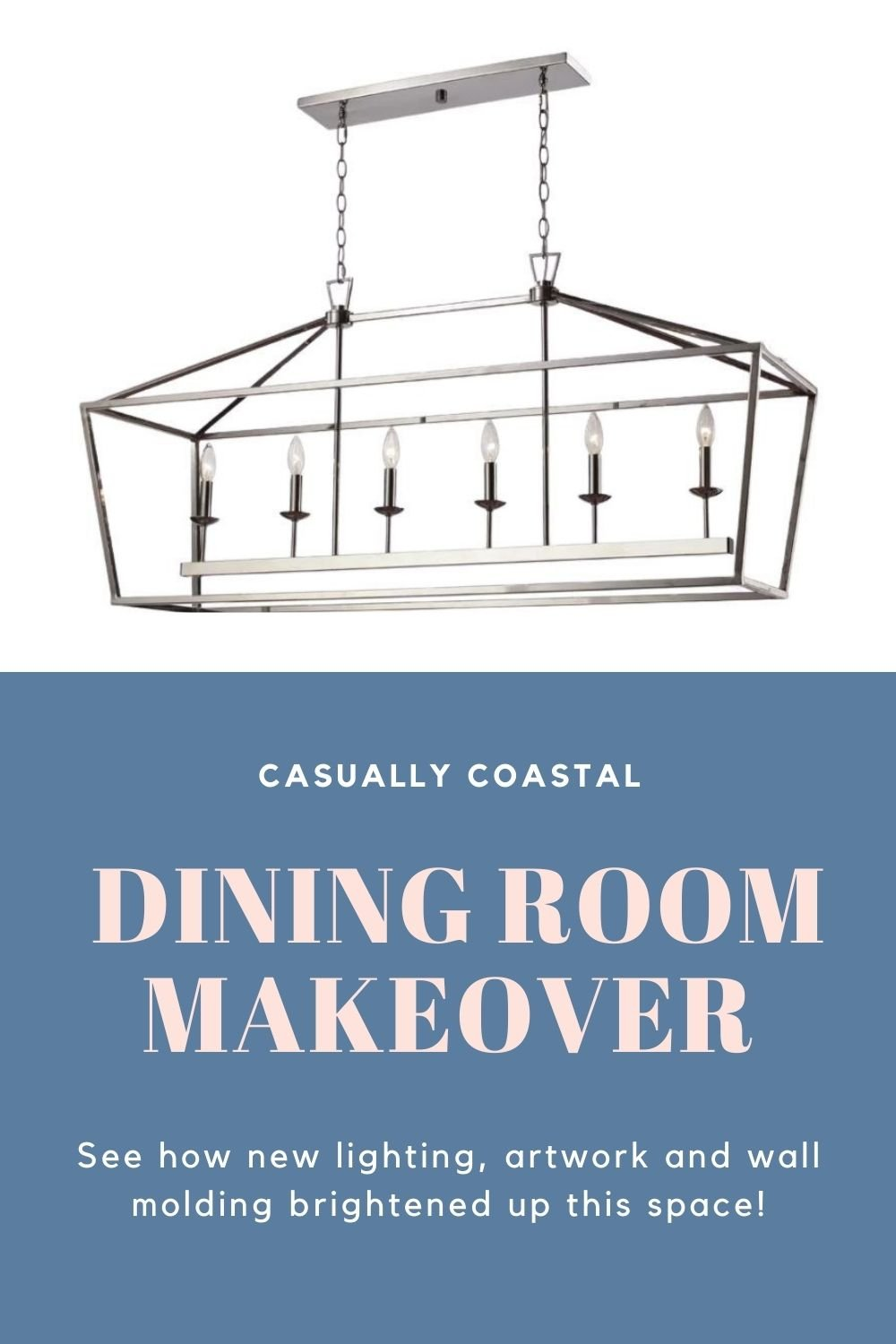 Our Coastal Dining Room Updates Are Complete!