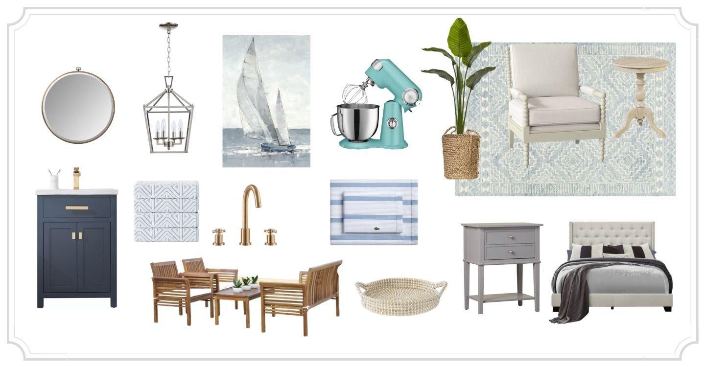 Coastal Wayfair products
