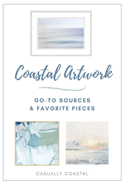 Where To Buy Coastal Artwork, Plus My Favorite Pieces