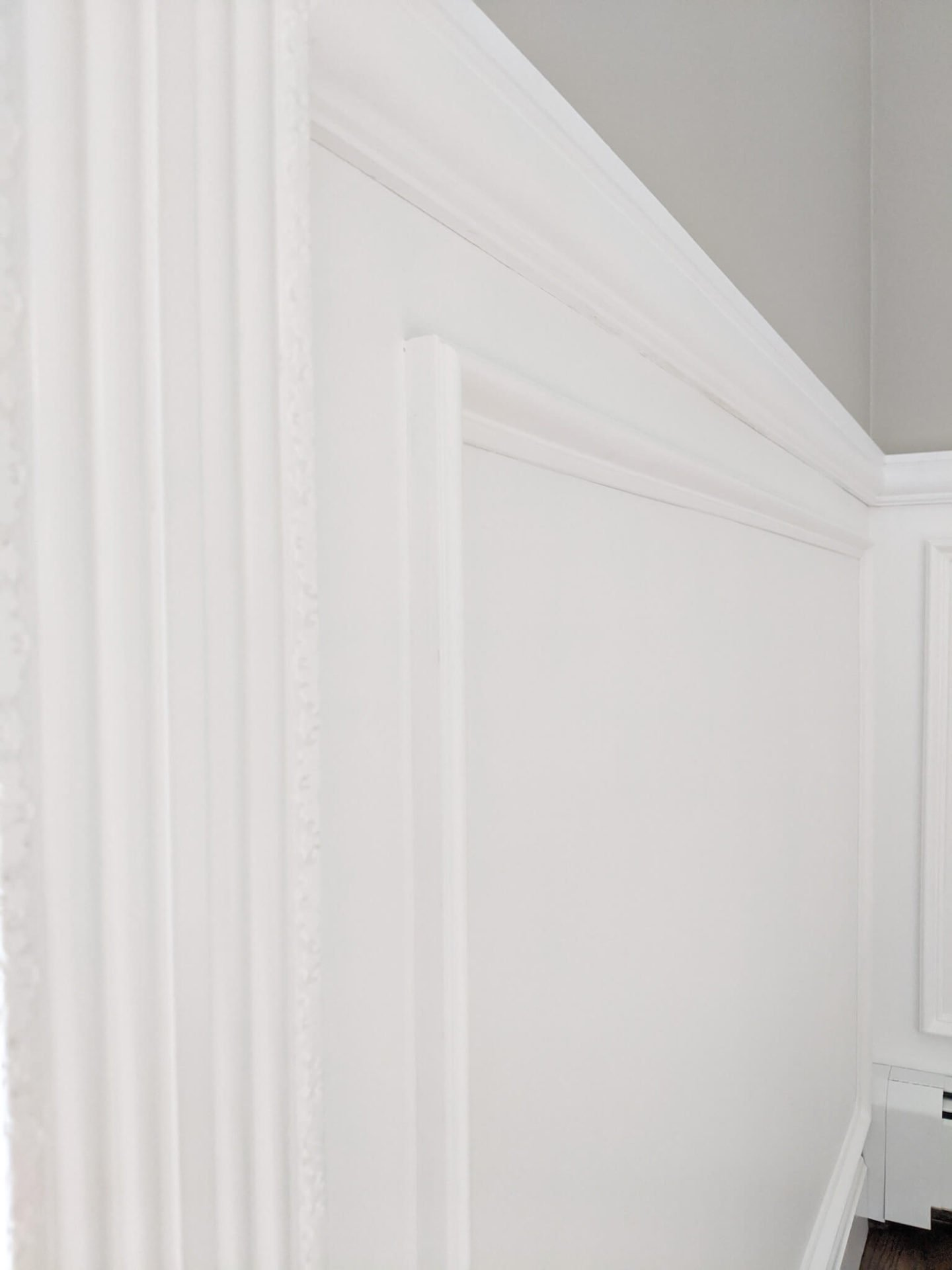In this guide that covers how to install picture frame molding, you'll learn how to install molding that will give you results like this photo show.