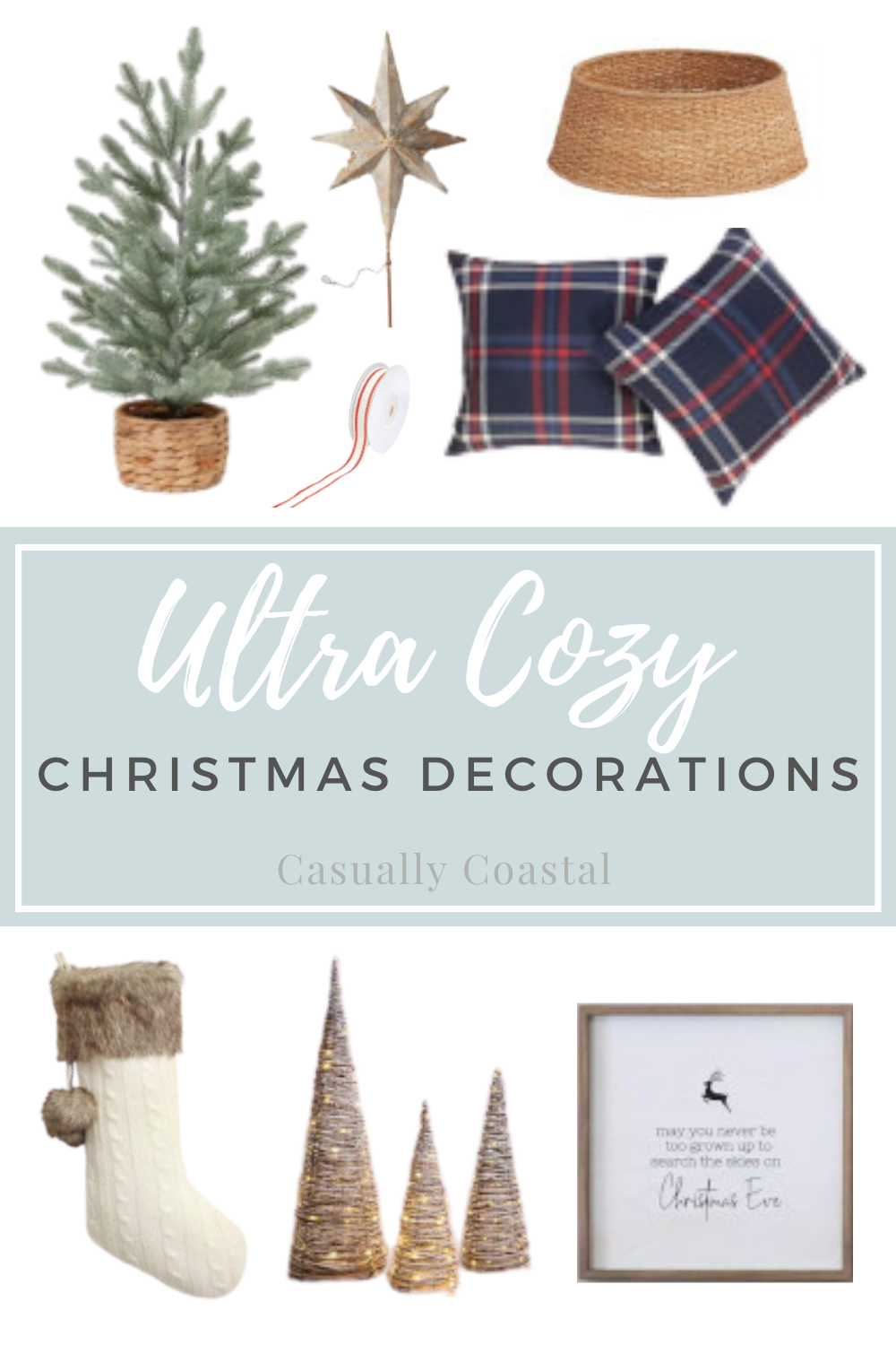 Wondering What to Buy for Christmas Decorations? Here's My Four Must-Haves!
