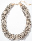 Pearlized Torsade Necklace