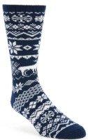 Butter Fair Isle Bouclé Socks