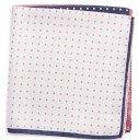 Nordstrom Four Panel Dot Silk Pocket Square