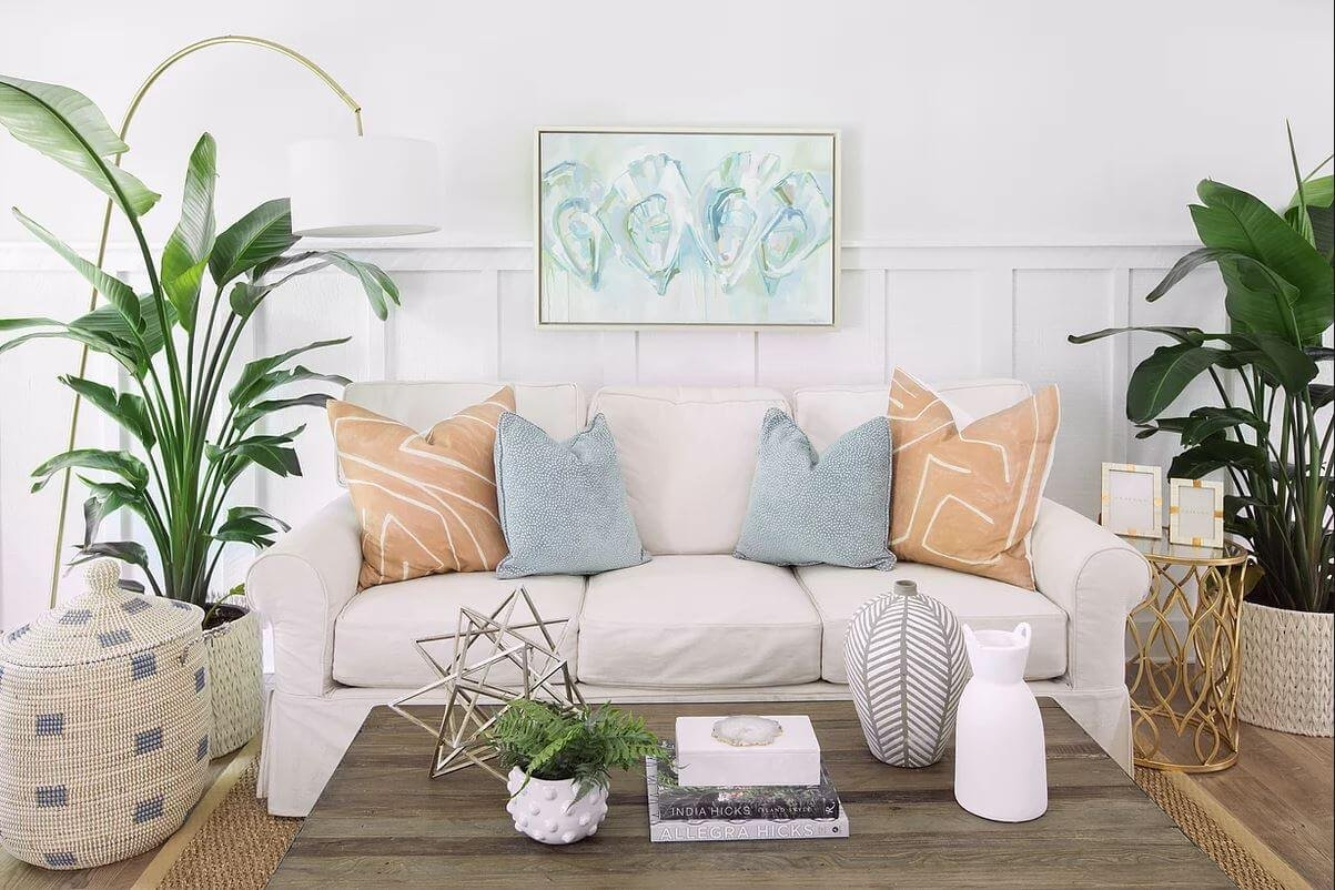 how to select throw pillows