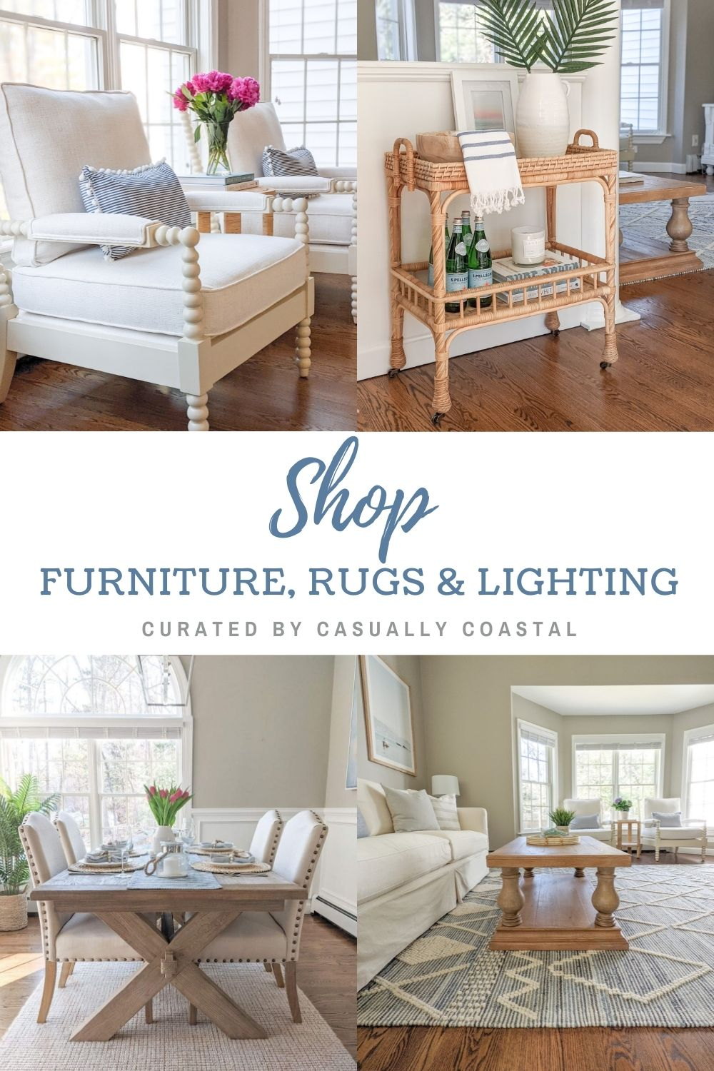 Shopping Guide: The Best Coastal Furniture, Lighting & Rugs