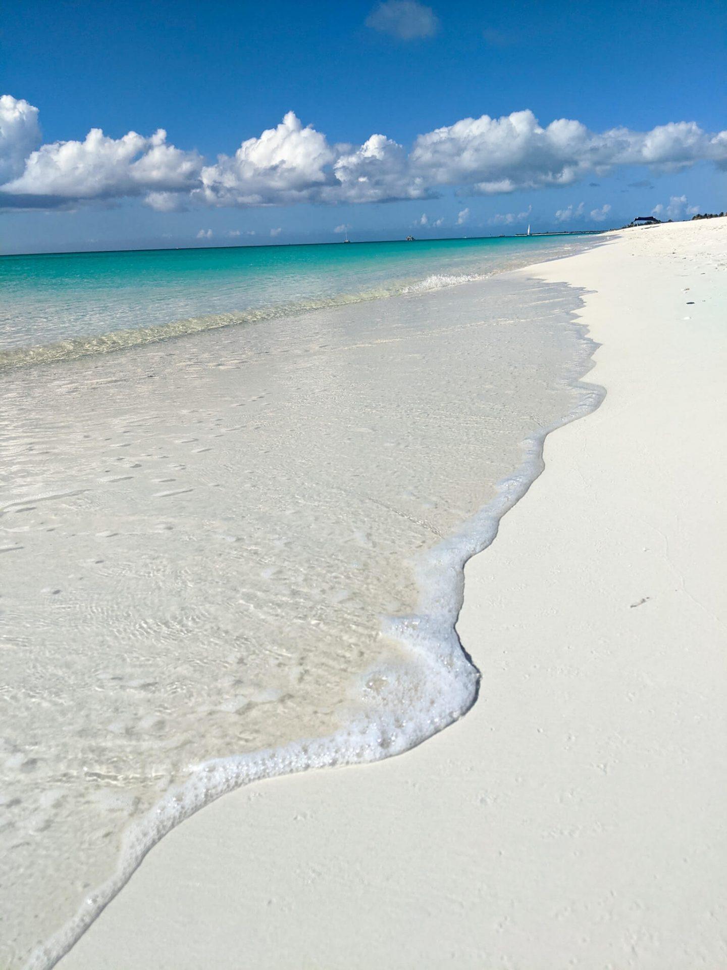 Leeward Beach in Turks & Caicos