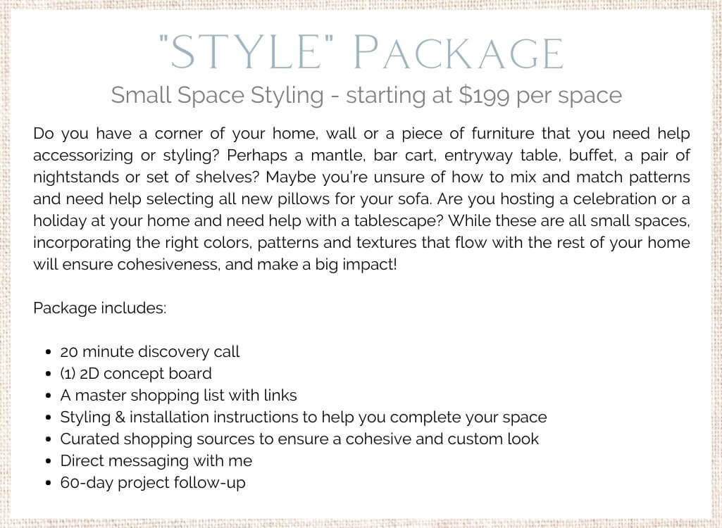 Style Virtual Design Package